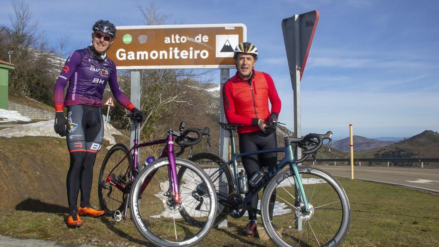 """Así subieron Perico Delgado y Ángel Madrazo el Gamoniteiro: """"Es espectacular"""""""