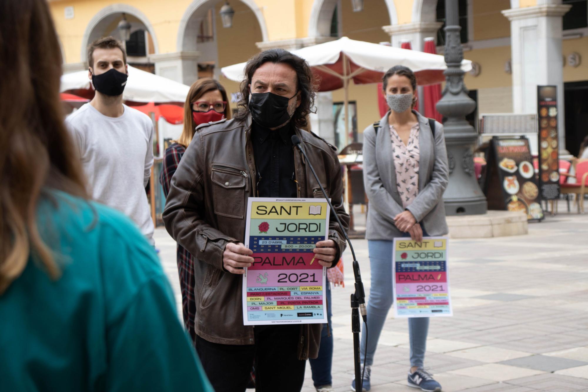 Mallorca organiza un Sant Jordi solo para las librerías