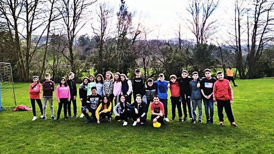 Escolares de San Vicente de Paúl de Benavente participan en una iniciativa de inmersión lingüística en Cantabria