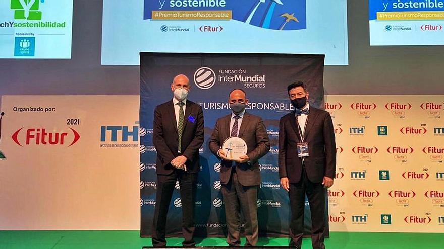Palladium recibe en Fitur el premio al turismo responsable y sostenible