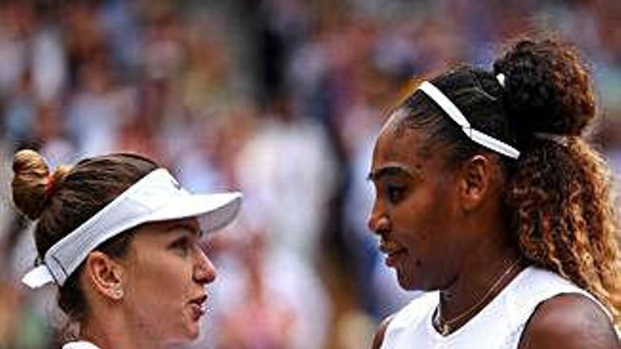 Halep escombra Serena i conquereix Wimbledon