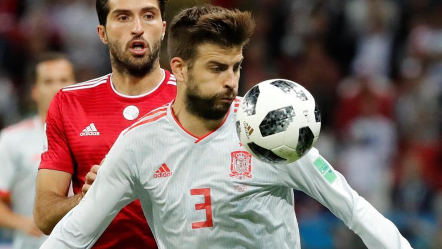 Piqué confirma que no tornarà a jugar amb la selecció espanyola