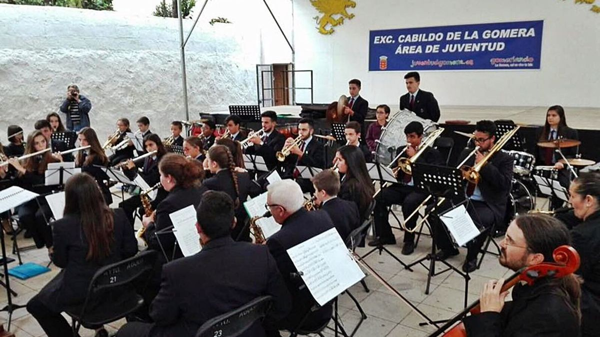 Concierto de la iniciativa Primavera Musical en La Gomera. | | E.D.