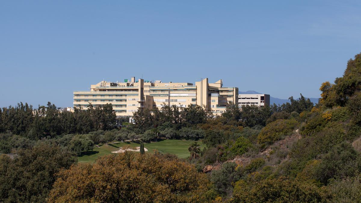 Vista del Hospital Costa del Sol de Marbella.