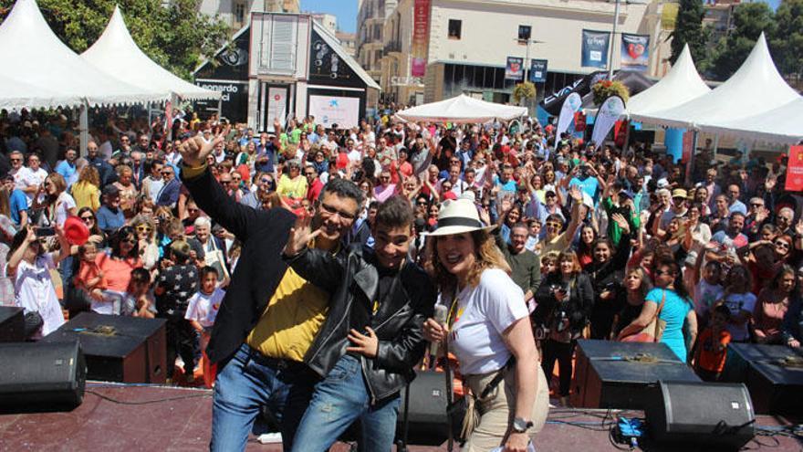 Más de 80.000 personas participan en el Festival Soles de Málaga
