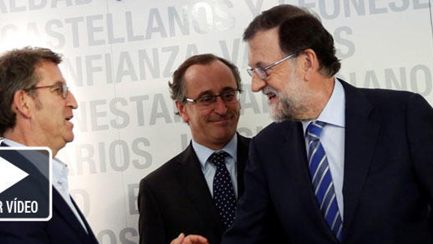 """Rajoy: """"Mi interlocutor en el PSOE es Sánchez"""""""