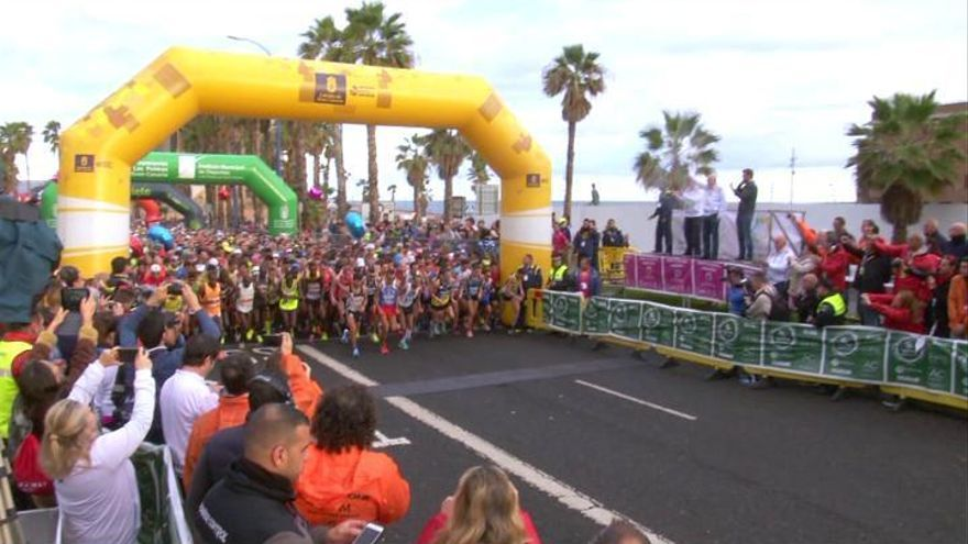 La Cajasiete Gran Canaria Maratón, séptima mejor de España