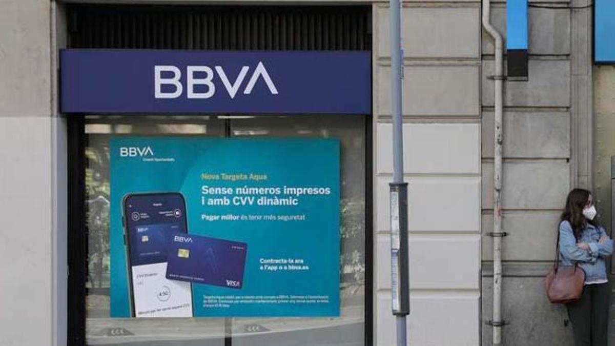 Una oficina de la entidad en València