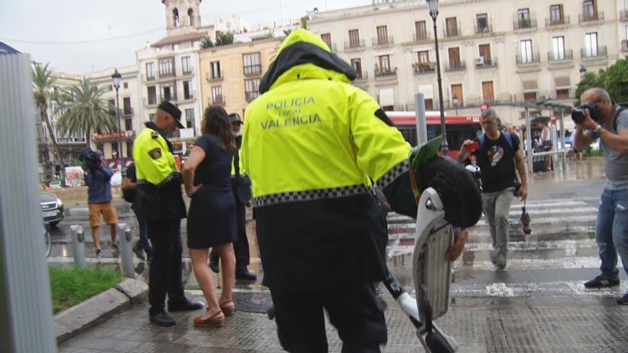 El juez anula la multa a la empresa de patinetes eléctricos de alquiler en València
