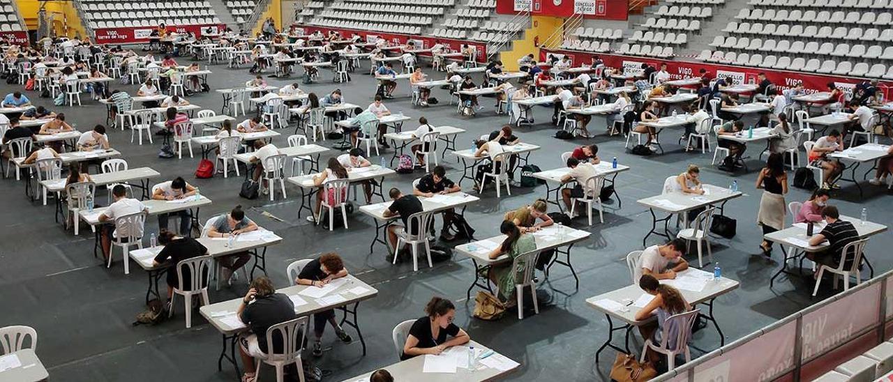 Examen de la ABAU el pasado año.