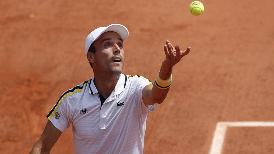 Bautista se despide de Roland Garros en segunda ronda