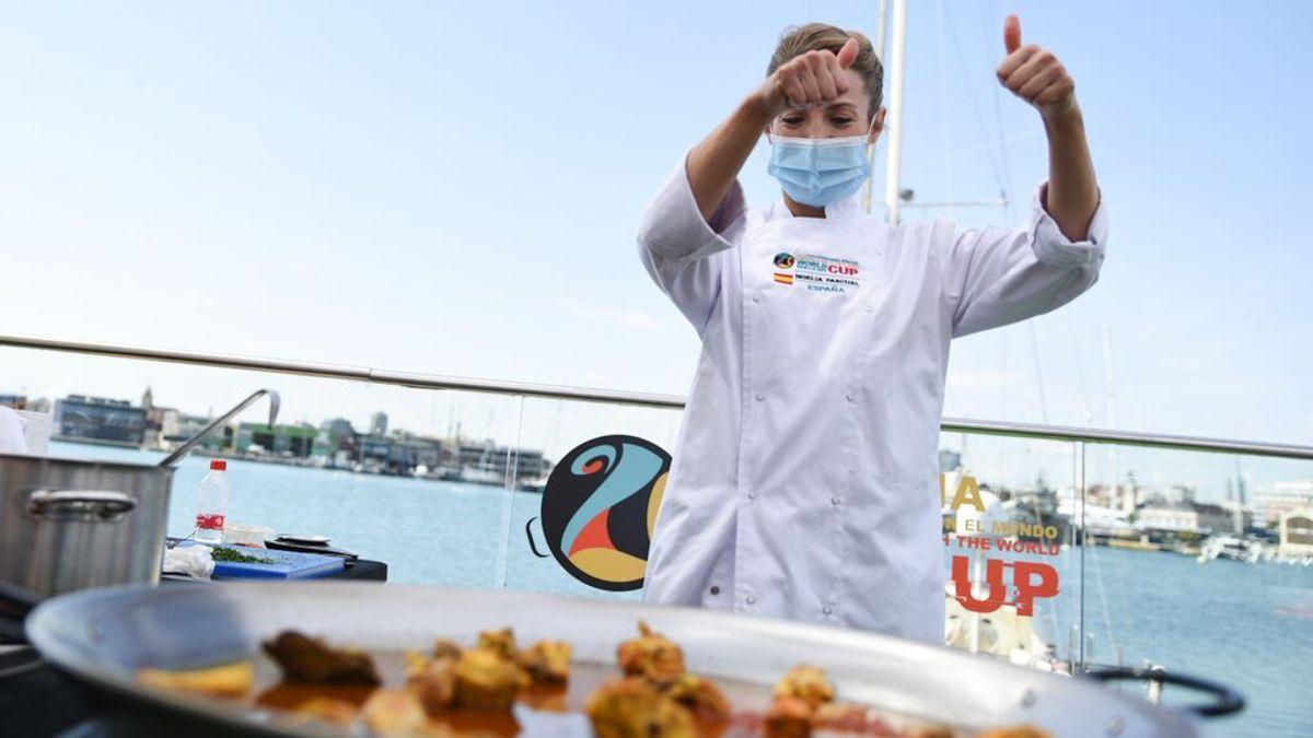 La chef ilicitana Noelia Pascual ha sido la vencedora de la World Paella Day Cup 2021