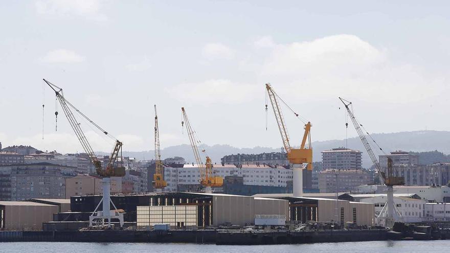 La Xunta solicitará a Madrid que incluya al naval en las ayudas regionales de Bruselas