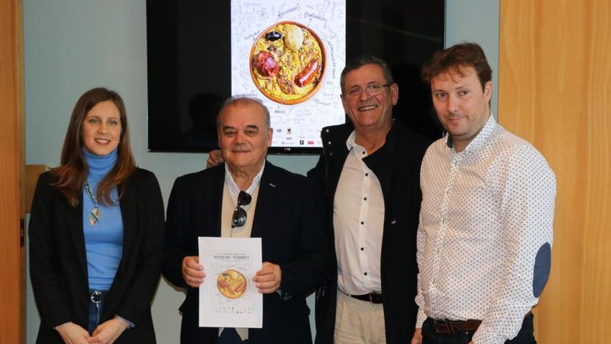 Más de una veintena restaurantes se darán cita en el III Concurso Nacional de Rossejat torrentí