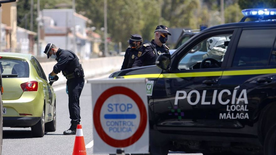 La Policía Local de Málaga denuncia a unas 1.500 personas en la última semana