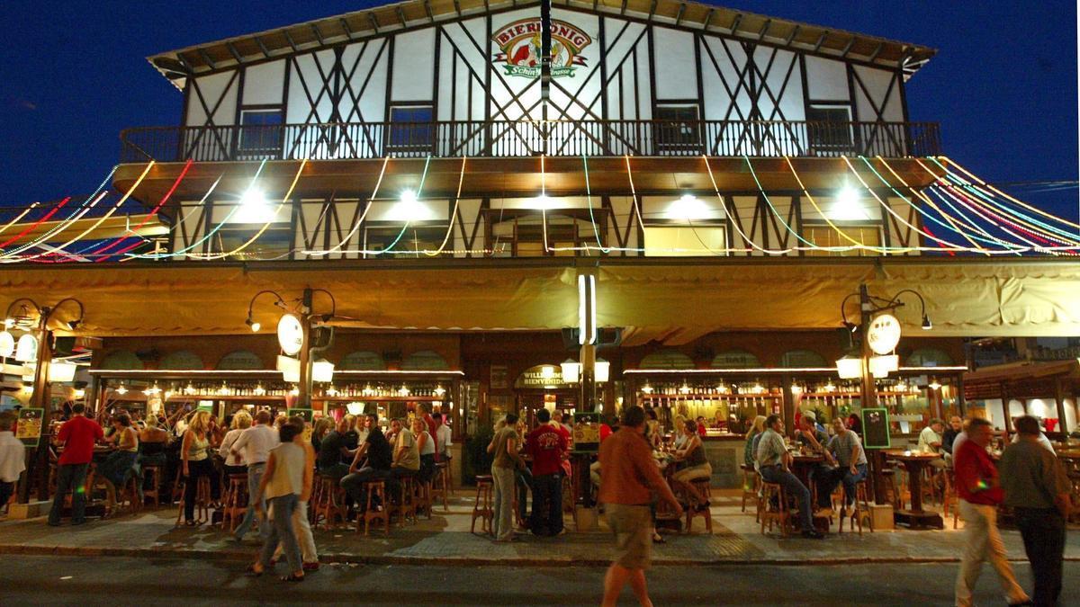 Der Bierkönig, hier in einer Archivaufnahme von 2003, ist eine Party-Institution auf Mallorca.