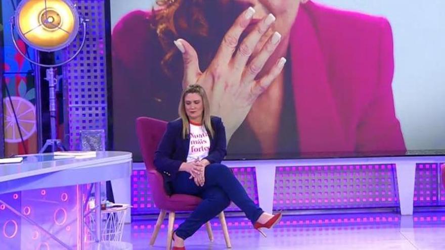 Carlota Corredera se revuelve contra quienes la critican en redes sociales