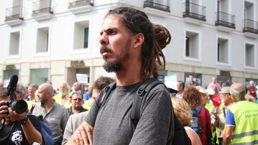Alberto Rodríguez niega haber golpeado a un policía en una manifestación
