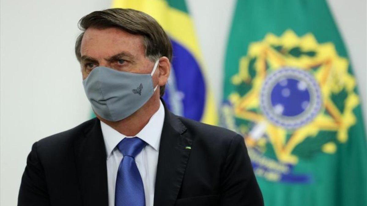 Hijo menor de Jair Bolsonaro da positivo por coronavirus