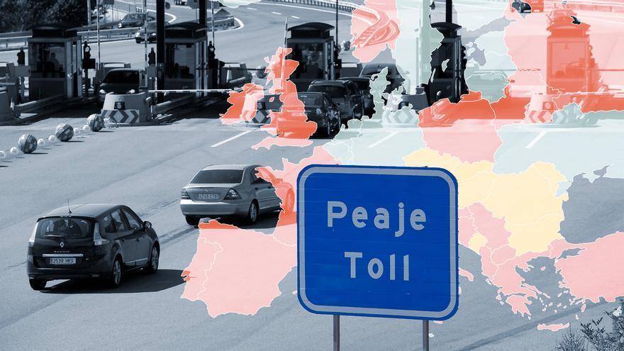 Gráfico: ¿En qué países de Europa se cobra por usar las autovías?