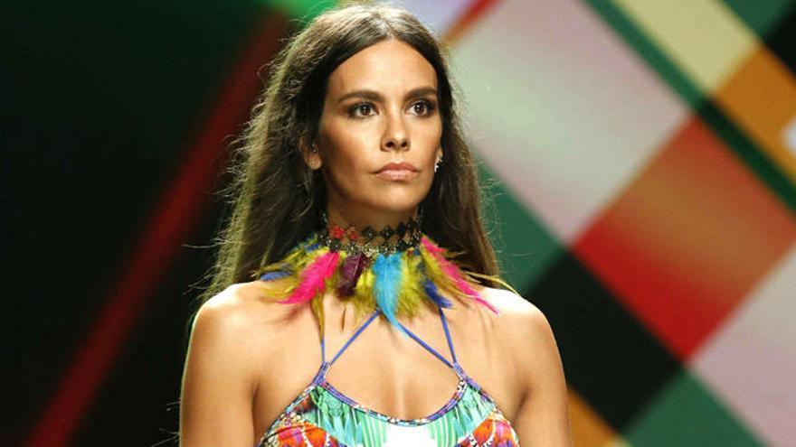 Cristina Pedroche debuta com a model de banyadors