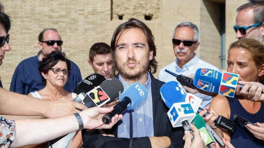 Aragón confía aún en el retorno de los bienes Sijena pero pide apoyo policial