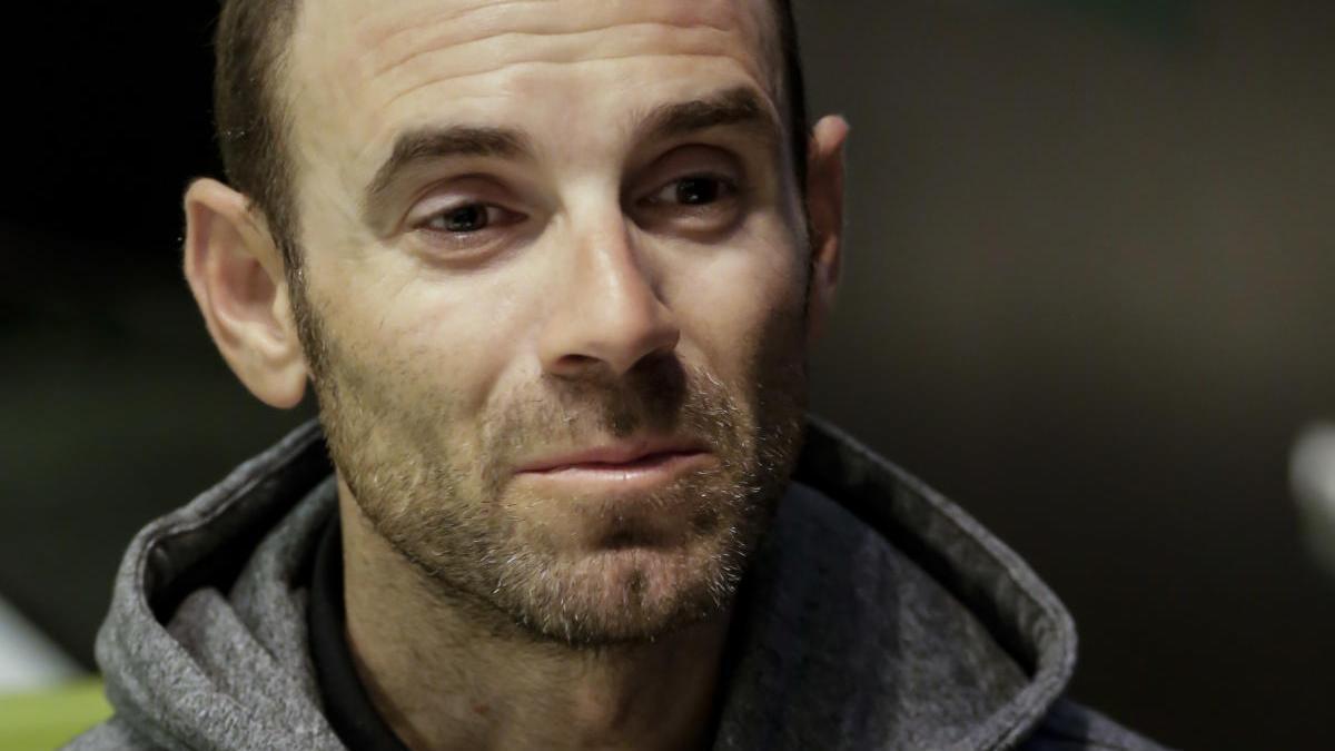 Valverde desvela que un agente le paró el primer día que salió a entrenar
