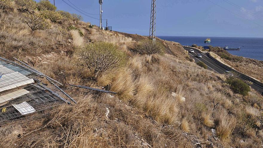 Comienzan los trabajos para crear la vía de acceso a la parte alta de El Suculum