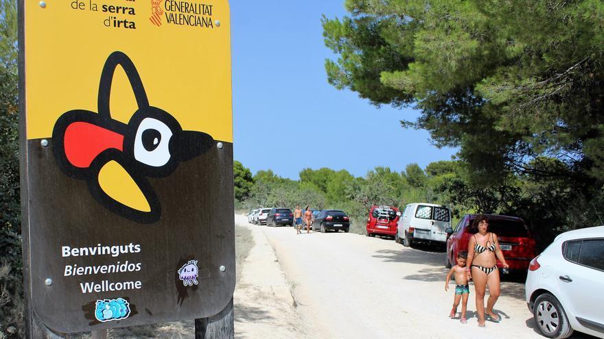 El difícil control a los accesos a la Serra d'Irta en plena ola de calor