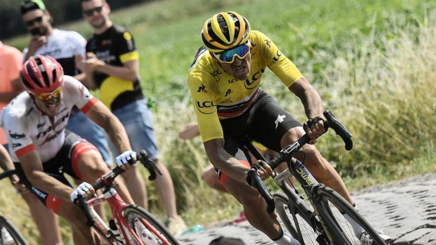 Así queda la clasificación general del Tour de Francia