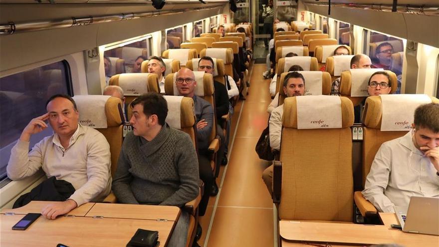 La alta velocidad desde Castellón triplica sus usuarios gracias al AVE