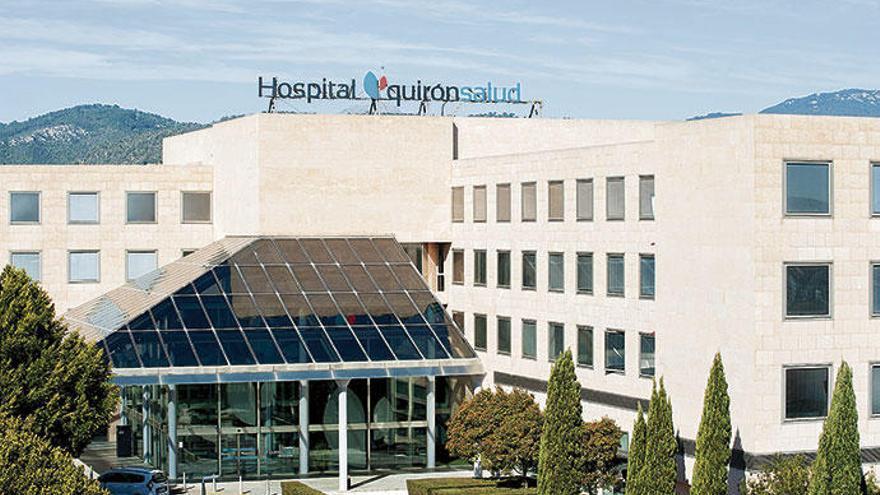 Los hospitales de Quirónsalud, los primeros de Baleares certificados como seguros frente al Covid