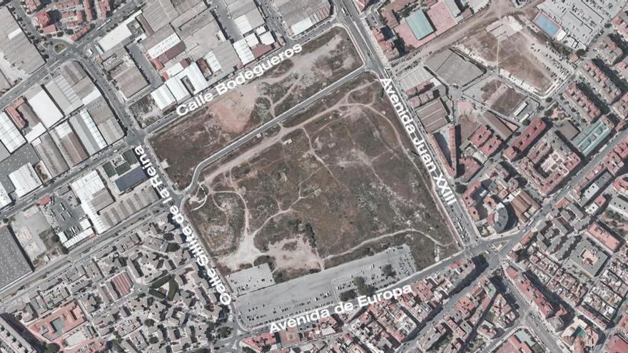 Bosque Urbano Málaga alerta del riesgo de construir el parking en Repsol