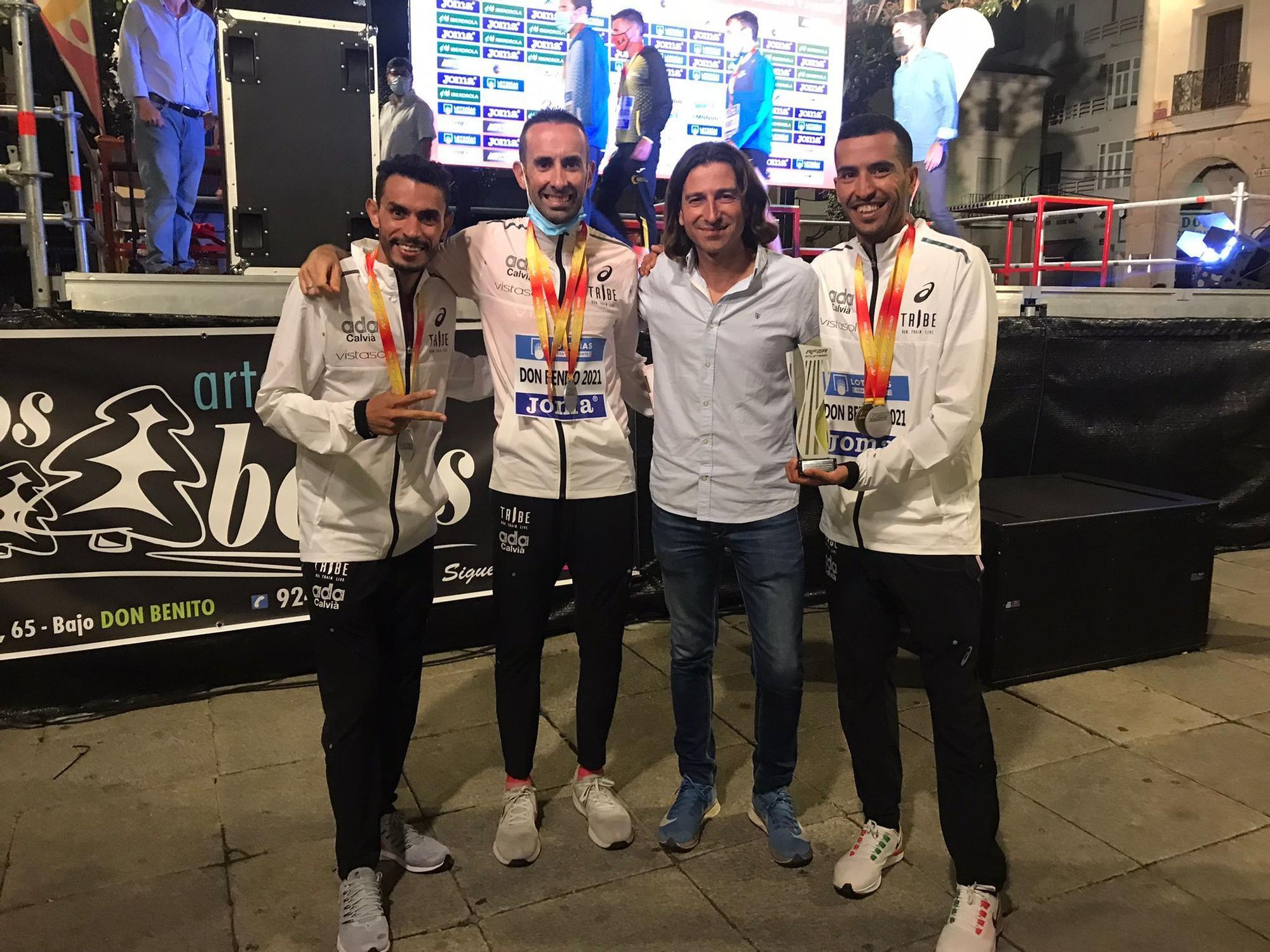 Abdelaziz Merzougui, campeón de España de 10 kilómetros