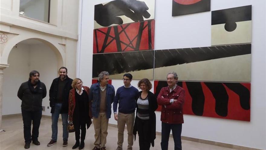 El centro Espaliú muestra obras del artista de coleccionistas cordobeses