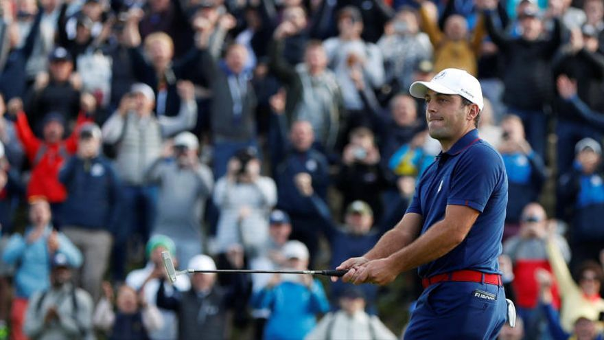 Europa cierra la primera jornada de la Ryder Cup con ventaja sobre EEUU