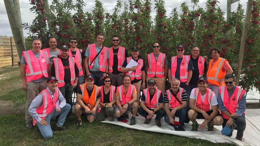 Els productors de Poma de Girona es formen a Nova Zelanda