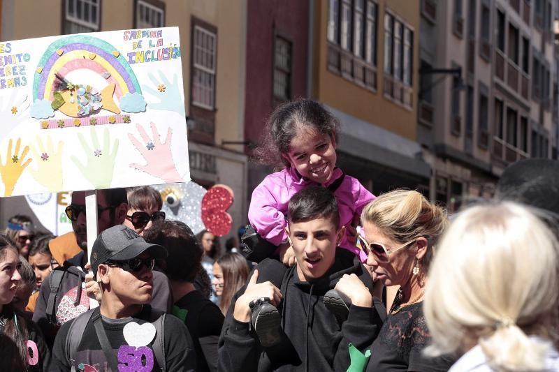 Sardina de la Inclusión, en La Laguna | 04/03/2020  | 04/03/2020 | Fotógrafo: María Pisaca Gámez