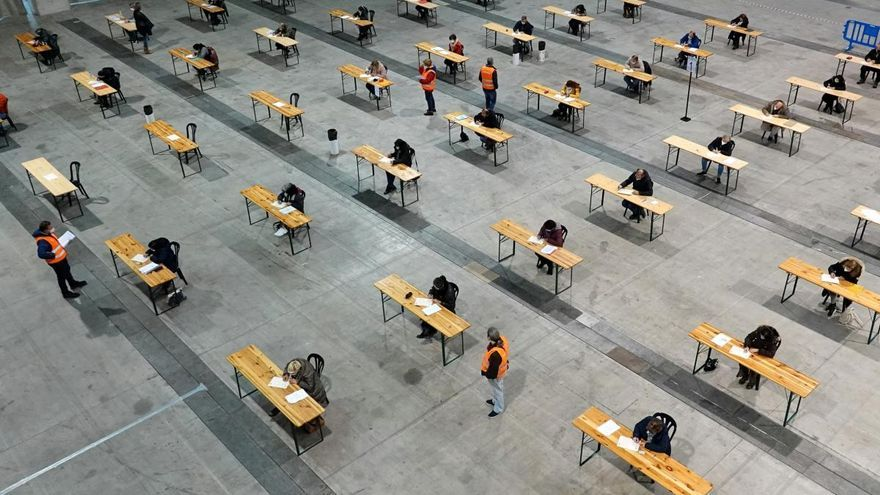 """Finalizan """"sin incidencias"""" y con un 96% de participación las pruebas de funcionarización de personal fijo de la Xunta"""