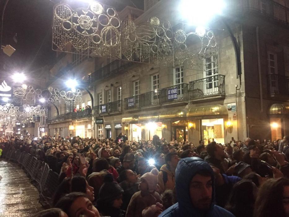 La Navidad arranca en Vigo con el encendido del alumbrado // R. G. / C. P. / J. A.
