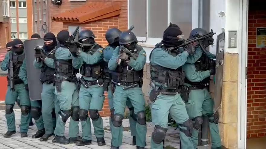 La USECIC, seguridad de élite en Gijón