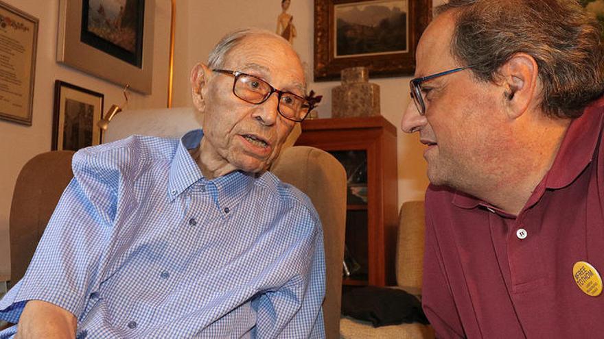 L'home més vell de Catalunya mor als 110 anys a Blanes