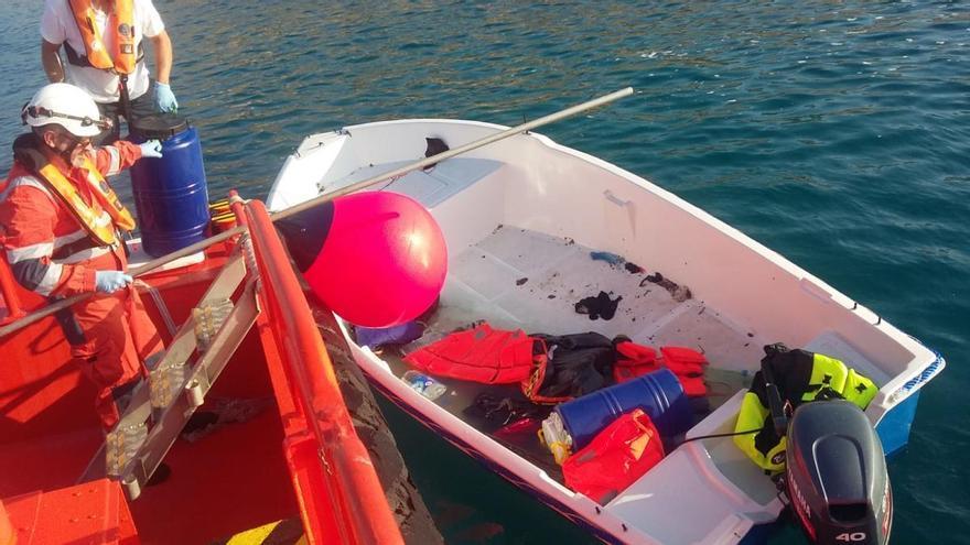 Interceptan tres pateras en Alicante y Guardamar con una treintena de inmigrantes