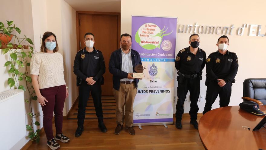Elche recibe un premio por la sensibilización ambiental