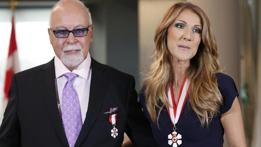 Muere el marido de Céline Dion, René Angélil