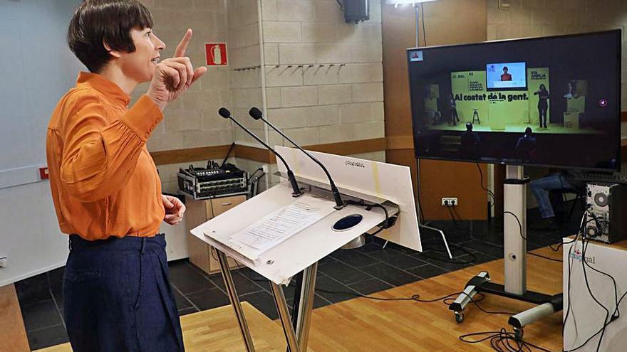 Pontón expresa su apoyo a ERC y pide a los catalanes una lección de dignidad al Estado