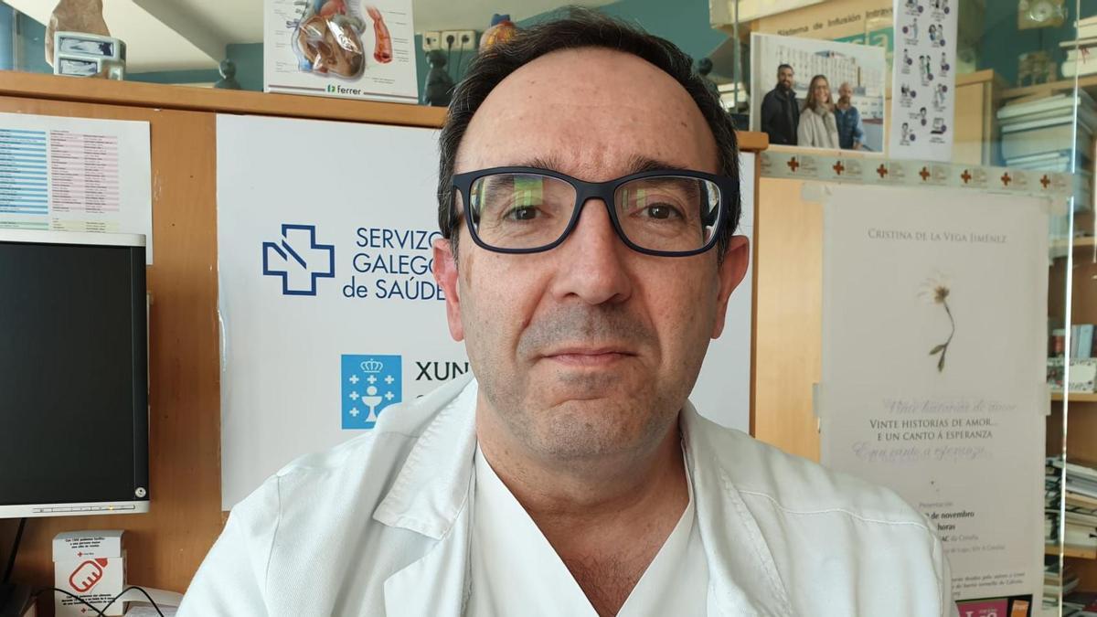 El doctor José Manuel Fandiño.