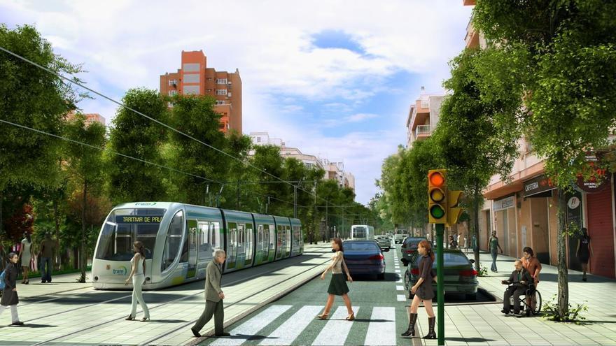 SFM adjudica la redacción del proyecto básico del tranvía al aeropuerto