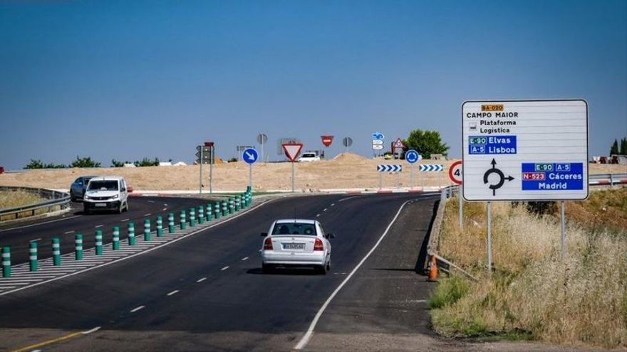 Las rotondas de Campomayor ya se encuentran abiertas al tráfico