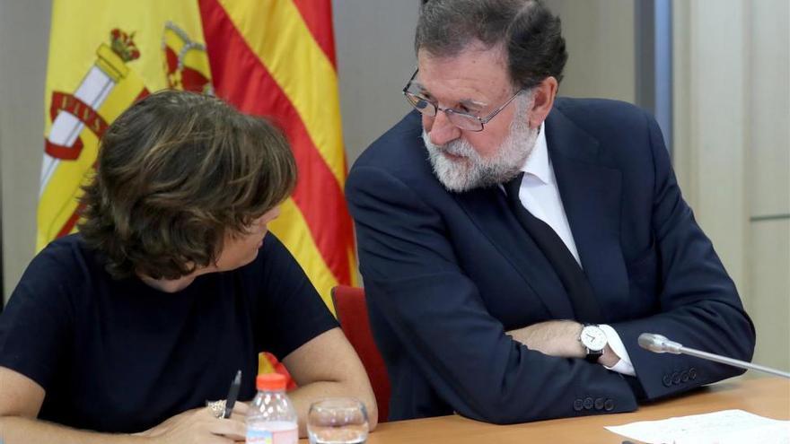 Rajoy pide al TC contundencia para que anule los acuerdos del Parlament